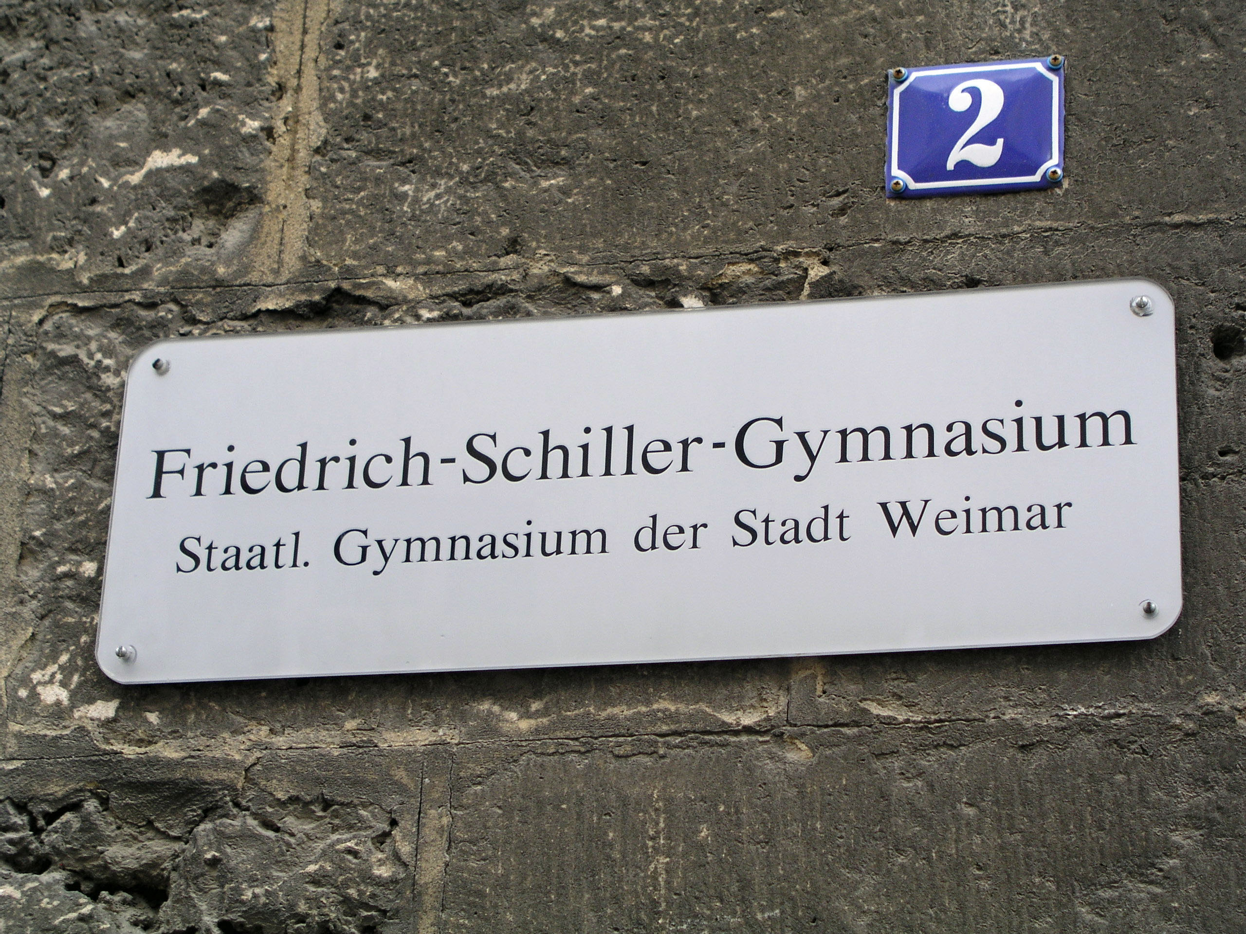 Friedrich Schiller Gymnasium Weimar –