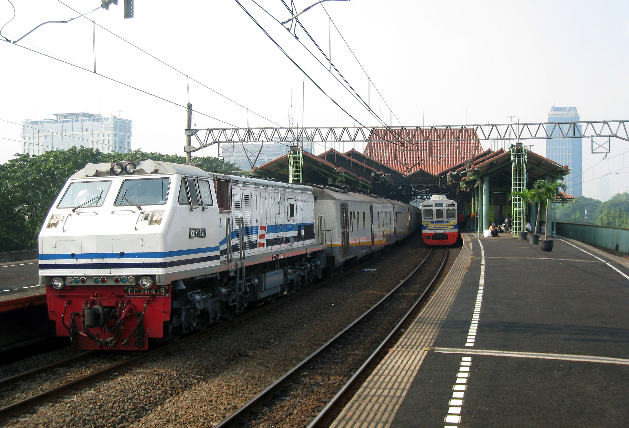 Rail Transport In Indonesia Wikipedia