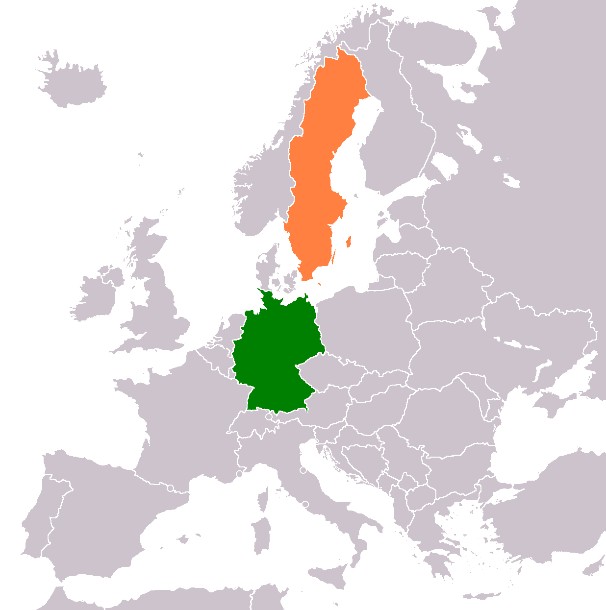 Germany–Sweden relations - Wikipedia