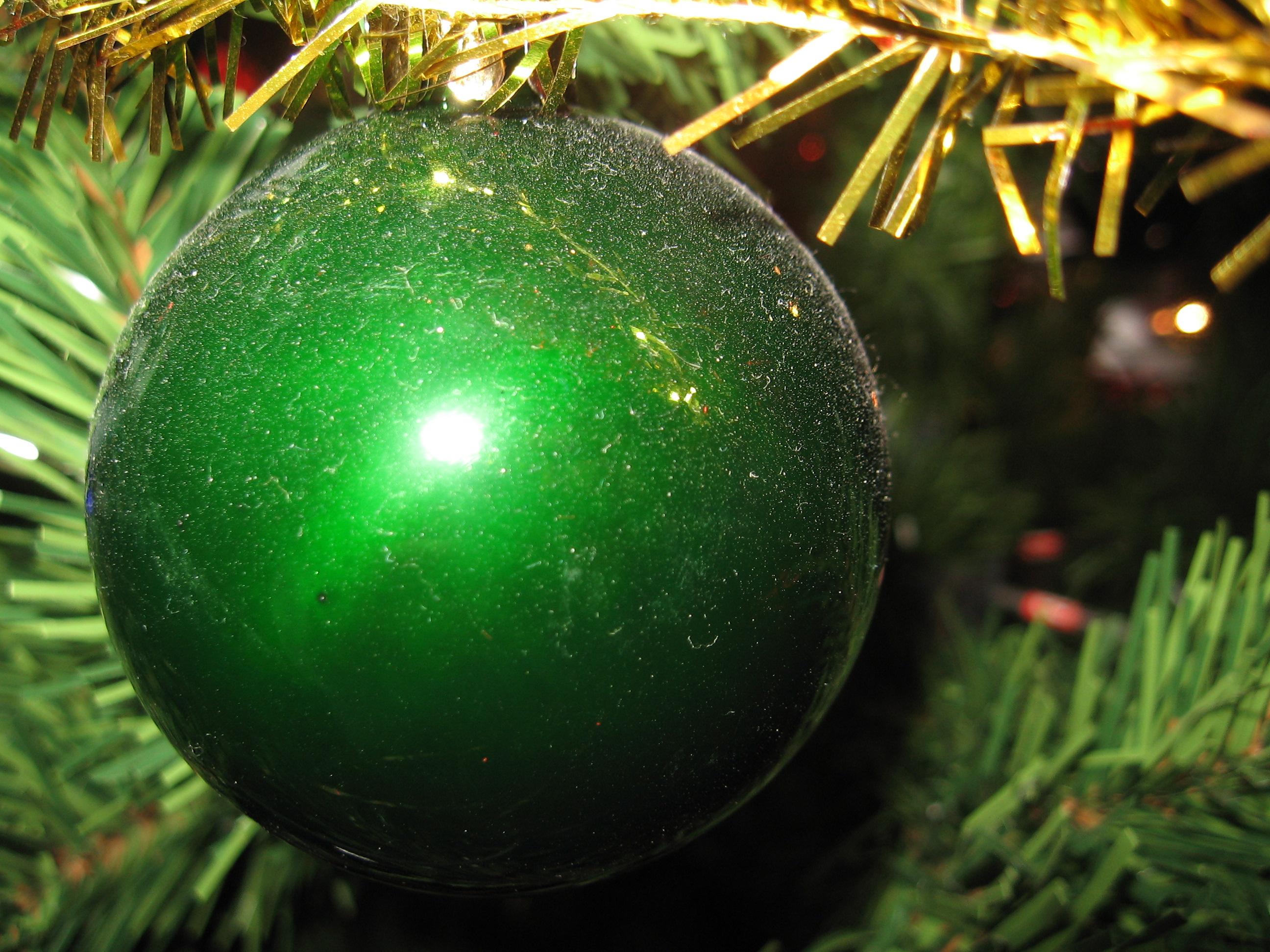 File Groene Kerstbal Jpg Wikimedia Commons