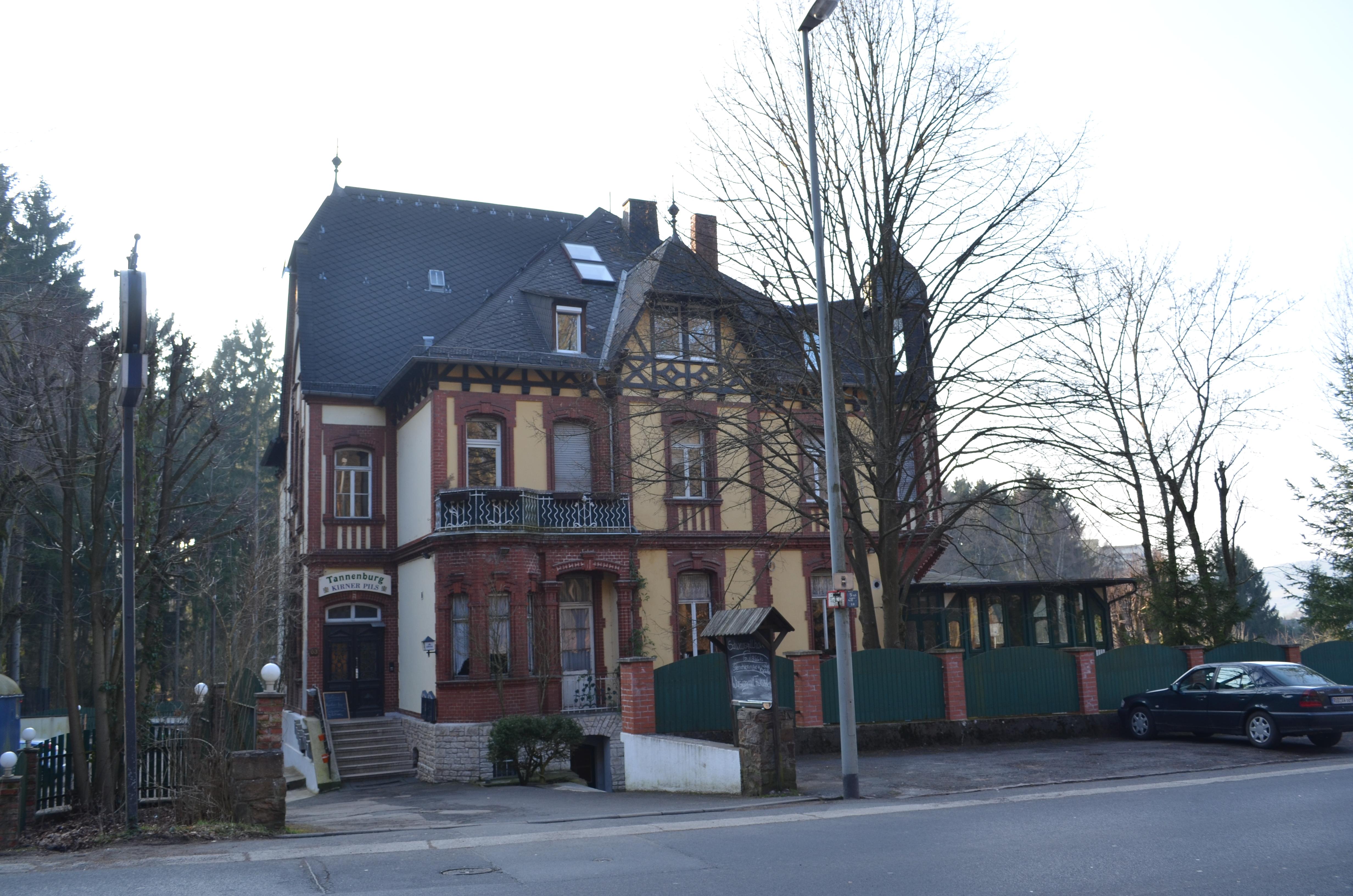 Haus Tannenburg Und Schullandheim Gruppenhausde