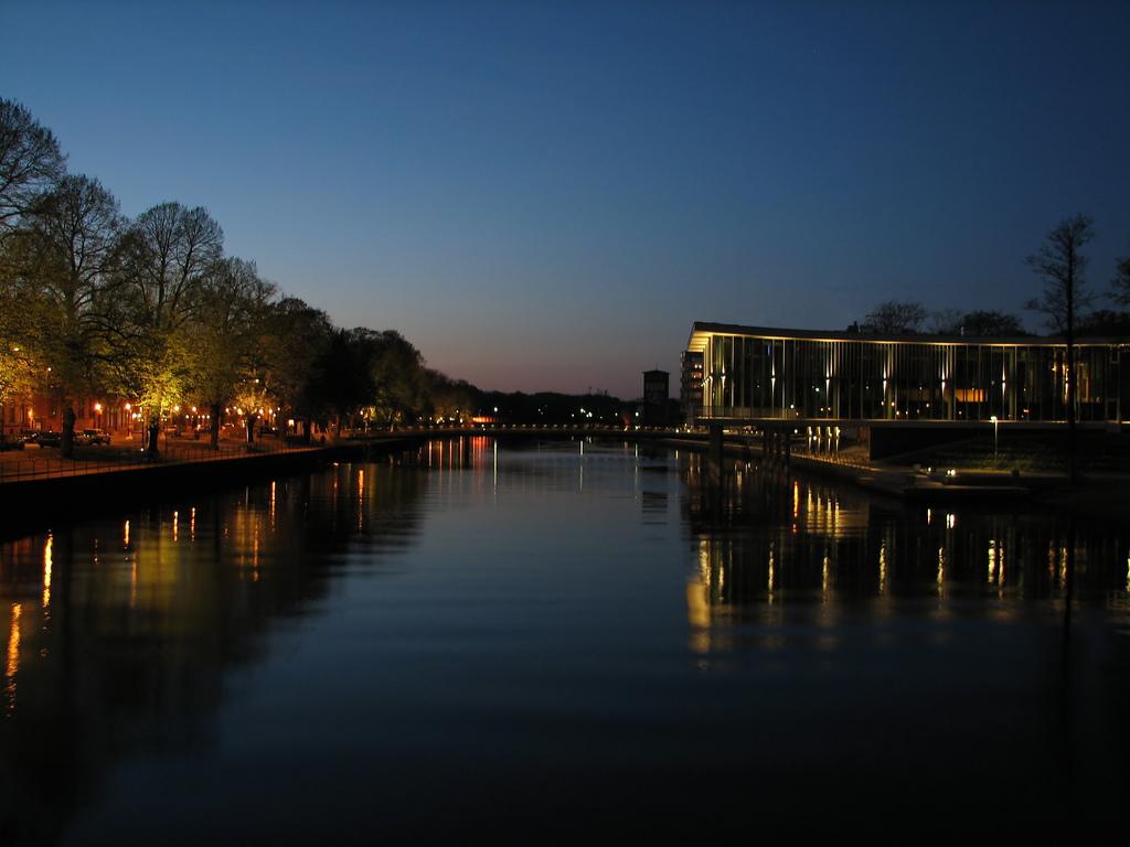 File:Halmstad lights on the water.jpg