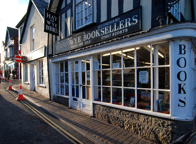 Image result for hay on wye book sellers