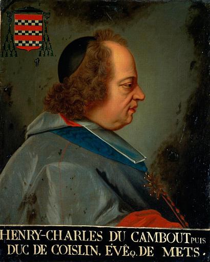 Portrait d'Henri Charles de Cambout, évêque de Metz