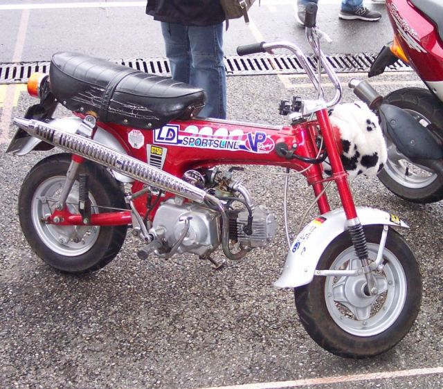 Fabulous Honda ST series (minibike) - Wikipedia PJ54