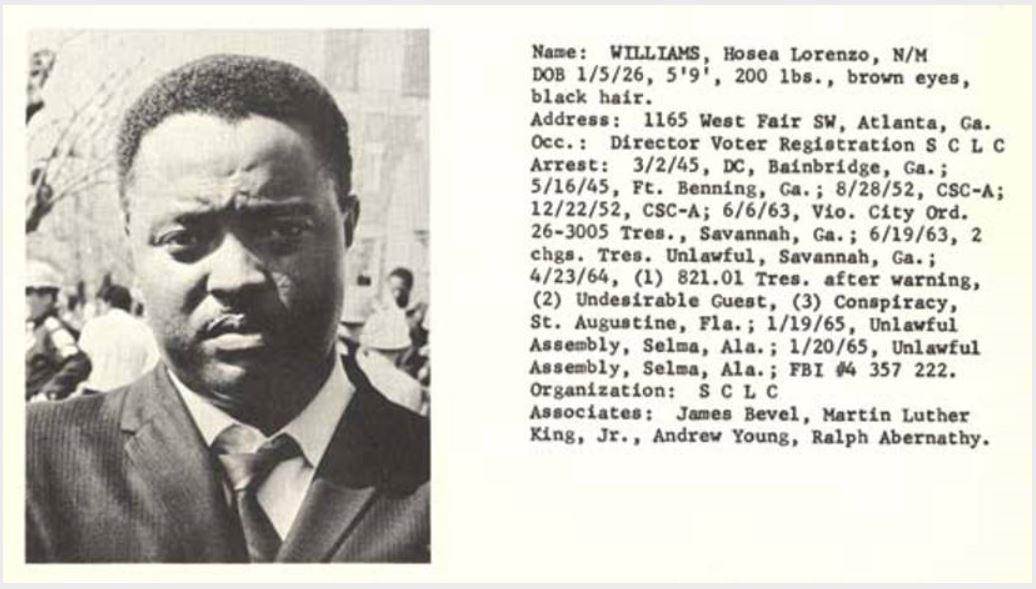 Hosea Williams