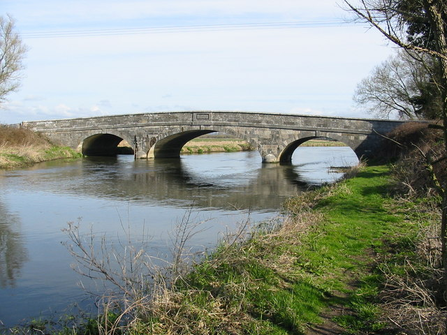Ibsley bridge River Avon Hampshire - geograph.org.uk - 158536