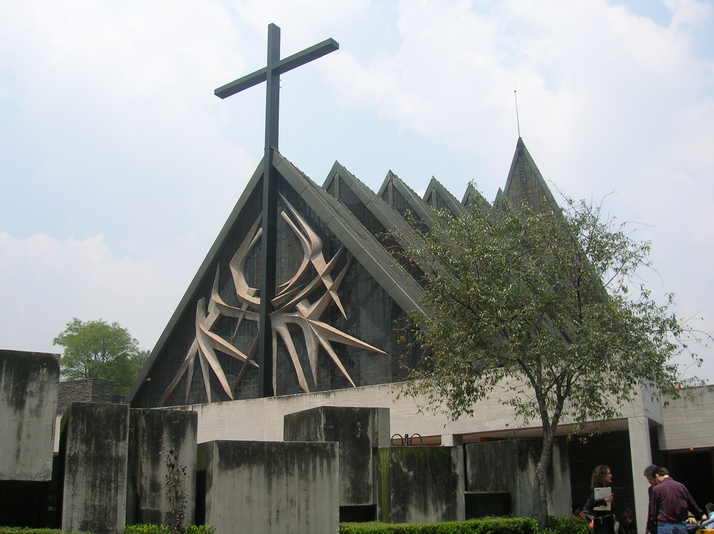 File iglesia jardines del pedregal for 777 jardines del pedregal