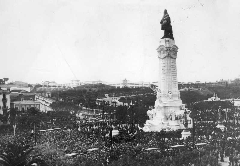 File:Inauguração do monumento ao Marquês de Pombal 1934 Foto não identificada 1.jpg