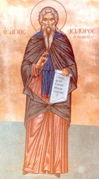 Isidoro de Pelúsio – Wikipédia, a enciclopédia livre