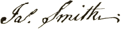James Smith Signature