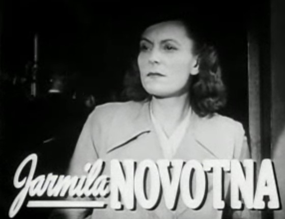 Jarmila Novotná in the trailer for ''[[The Search
