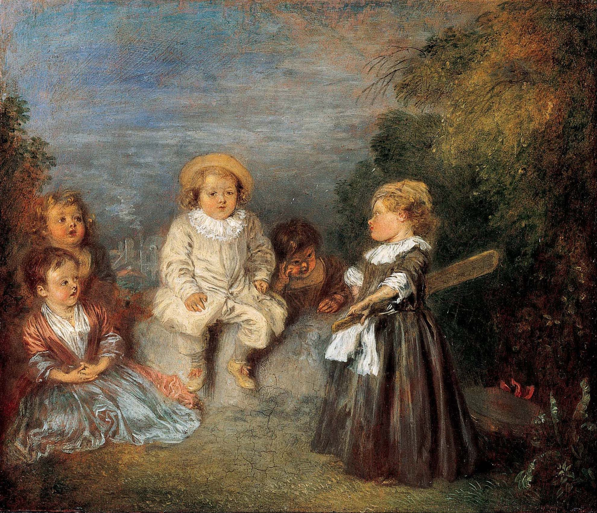 Jean Antoine Watteau - Page 2 Jean-Antoine_Watteau_-_Heureux_age!_Age_d%27or_%28Happy_Age!_Golden_Age%29_-_Google_Art_Project
