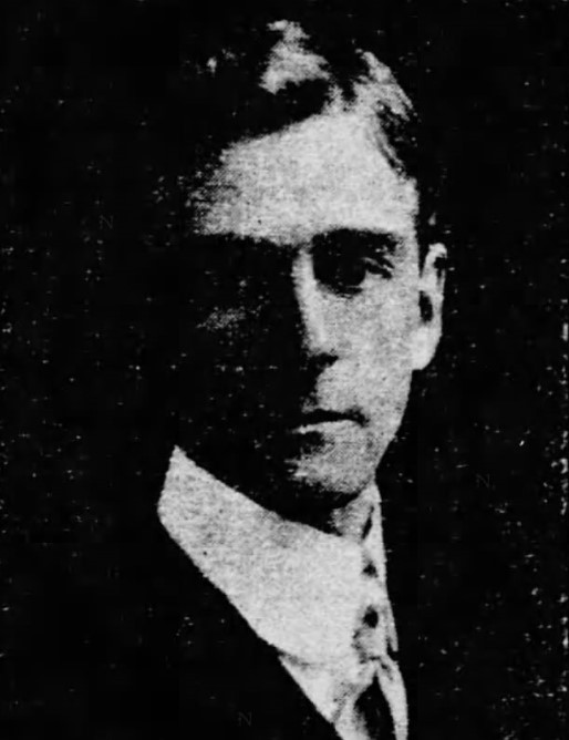 John R. Swanton's portrait in a 1903 newspaper called The Evening Star.