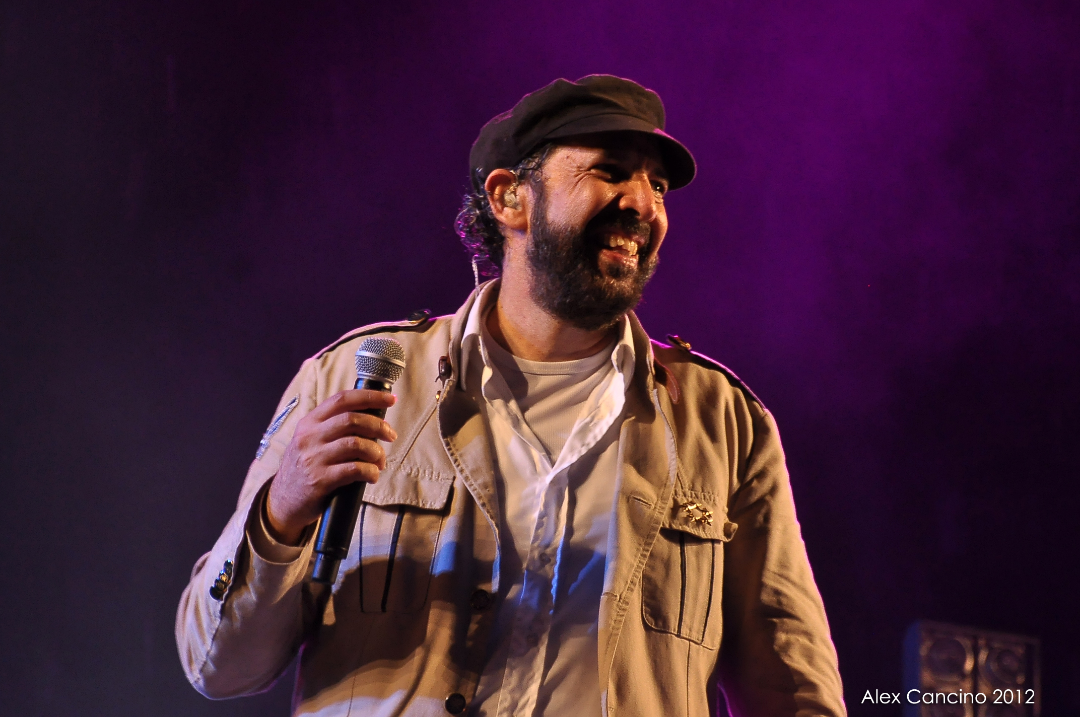 Juan Luis Guerra, Concierto en Santo Domingo, 2012