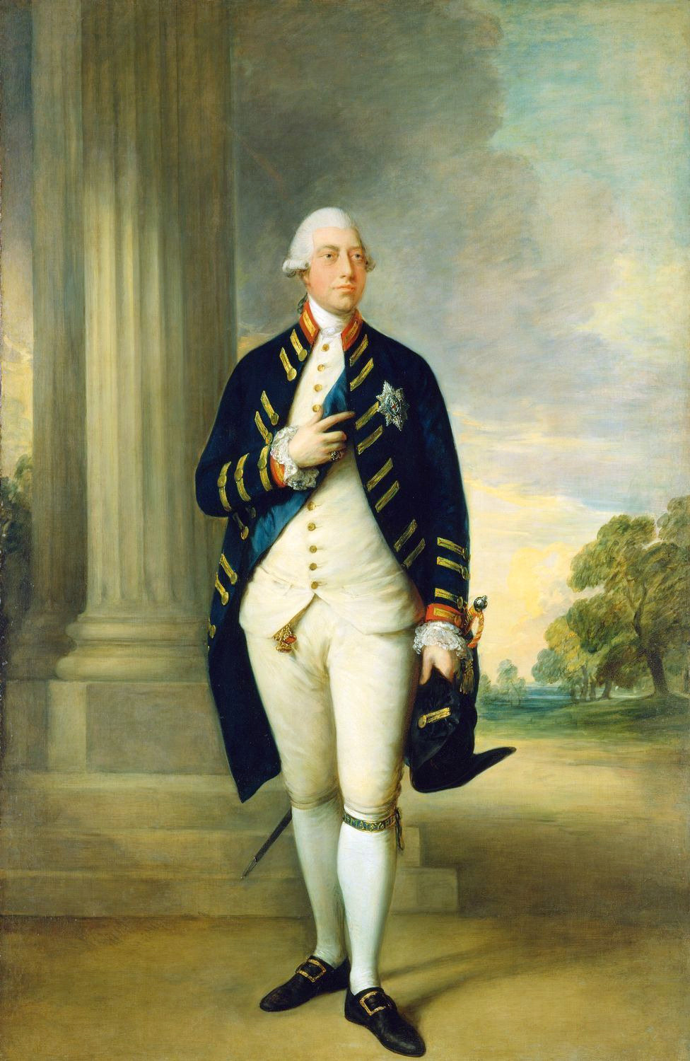 King George III, by Gainsborough