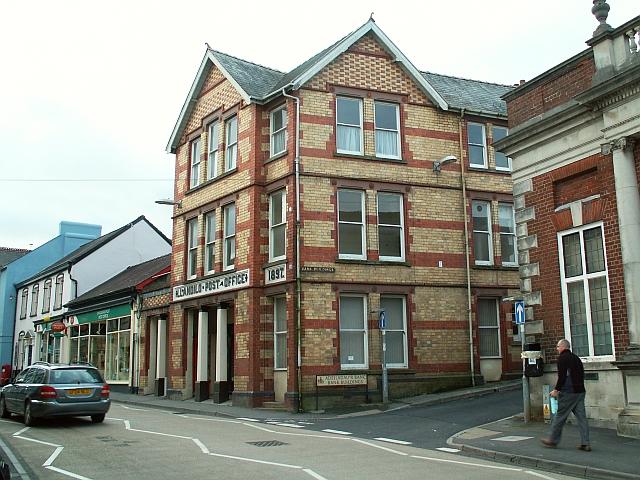 LLandeilo Post Office - geograph.org.uk - 1171617