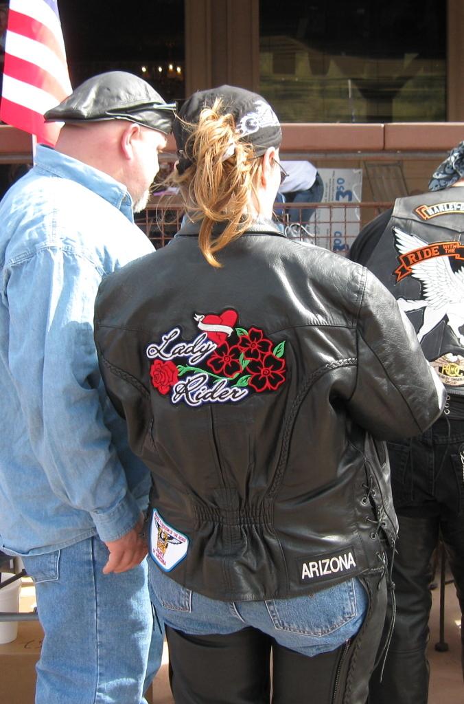 Poker run jackets