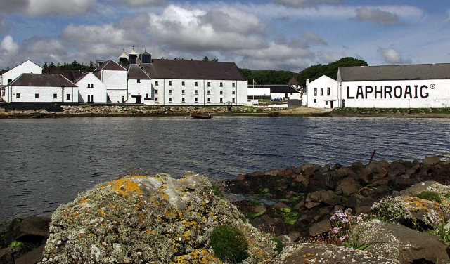 Image result for laphroaig distillery