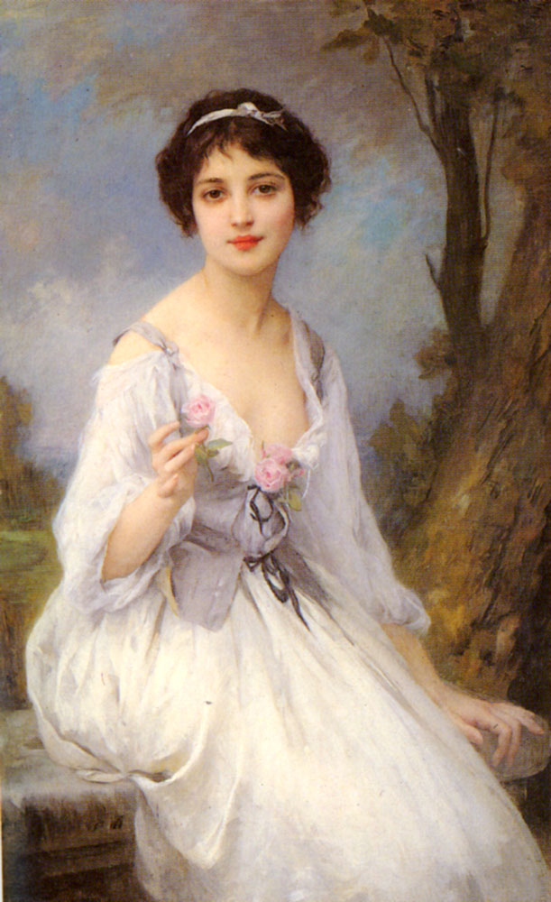 查尔斯·阿马布尔·勒努瓦法国画家Charles Amable Lenoir (French, 1861–1940) - 文铮 - 柳州文铮