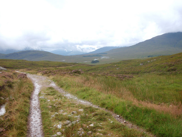 Looking south from the high point on the West Highland Way - geograph.org.uk - 927064