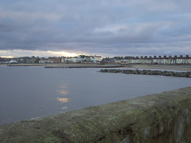 Lowestoft sea front taken from South pier - geograph.org.uk - 1746484
