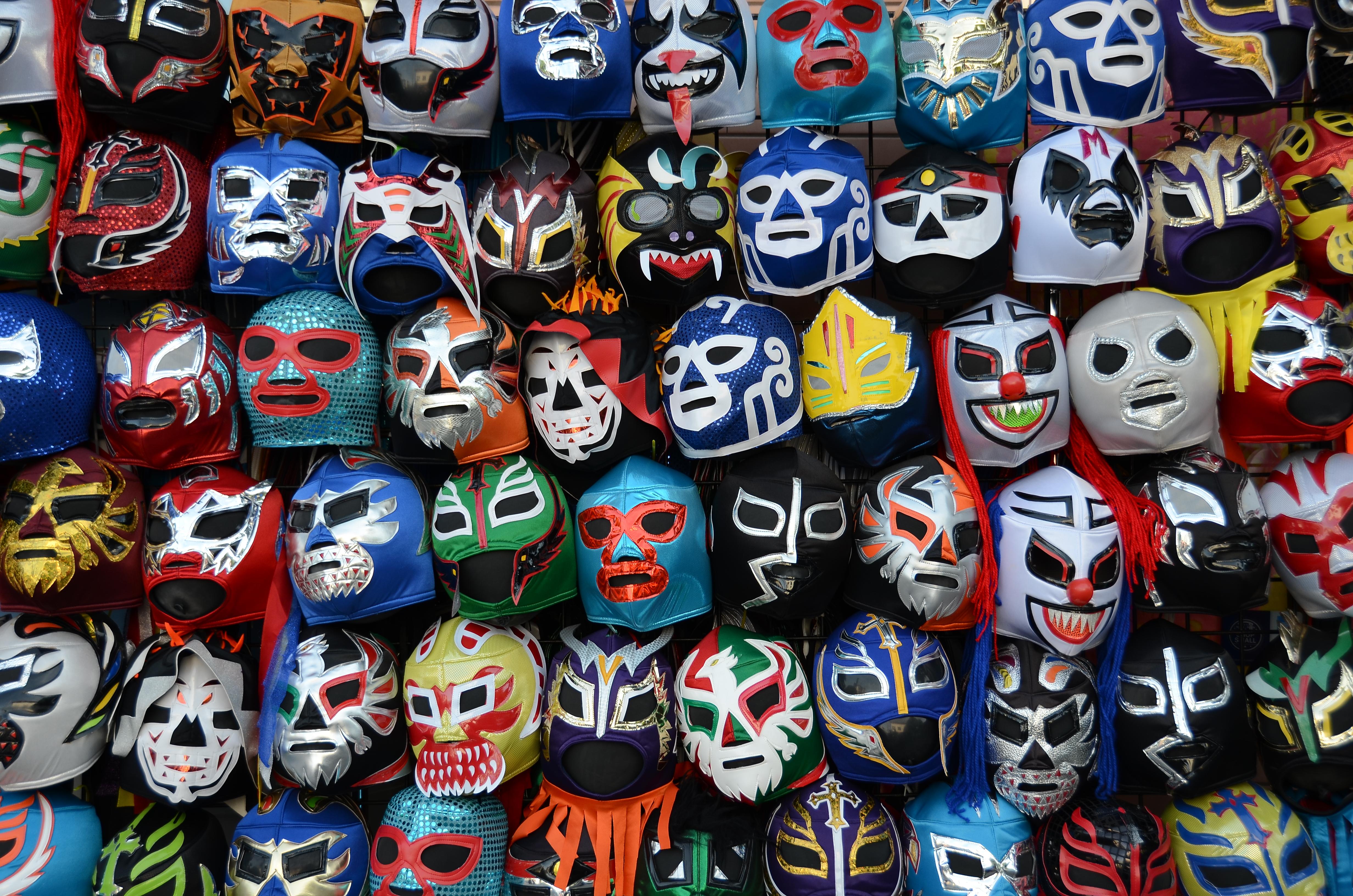 Lucha Libre Masks as Pic