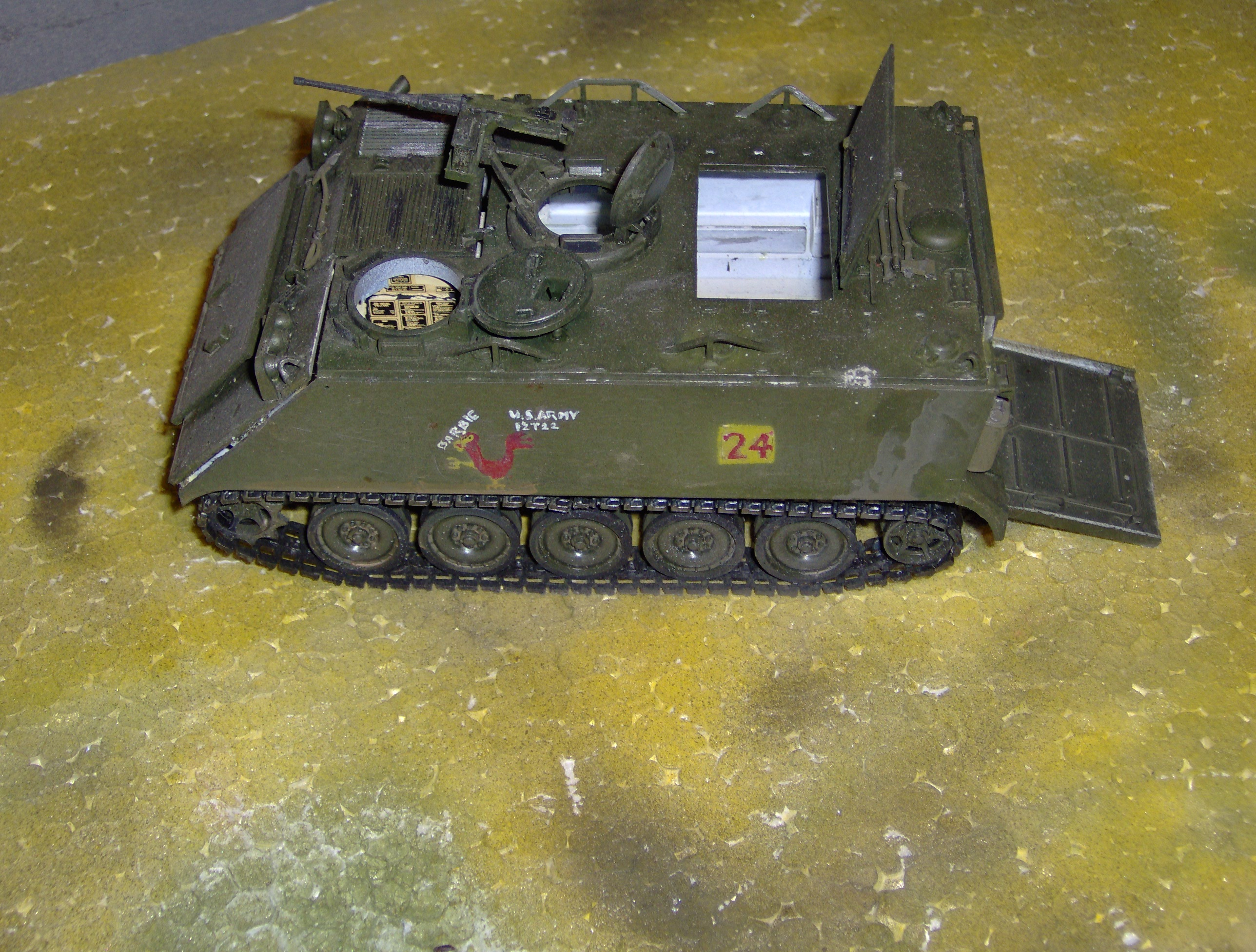 Http Commons Wikimedia Org Wiki File M113 Plastic Model Jpg