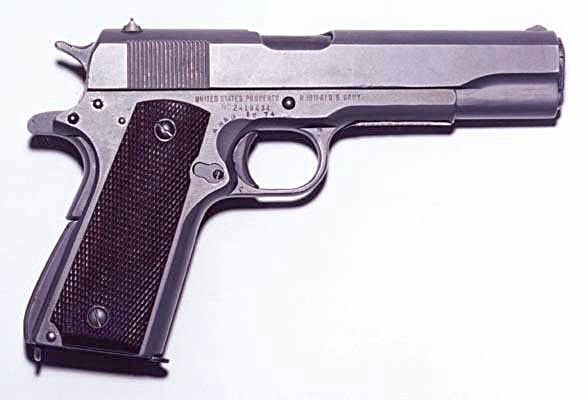 Armas de fuego(Fusiles,ametralletas,pistolas,etc)