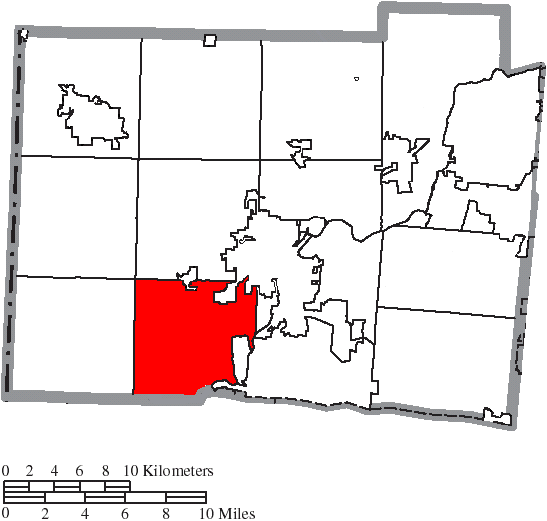 File Map Of Butler County Ohio Highlighting Ross Township Png
