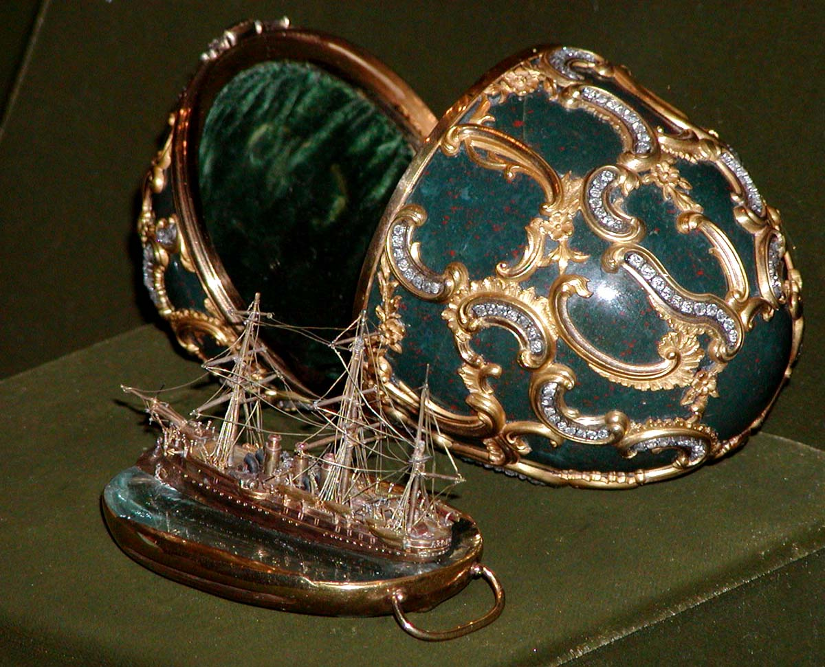 Fabergé egg Memory of Azov