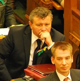 Lajos Mile Hungarian journalist and politician
