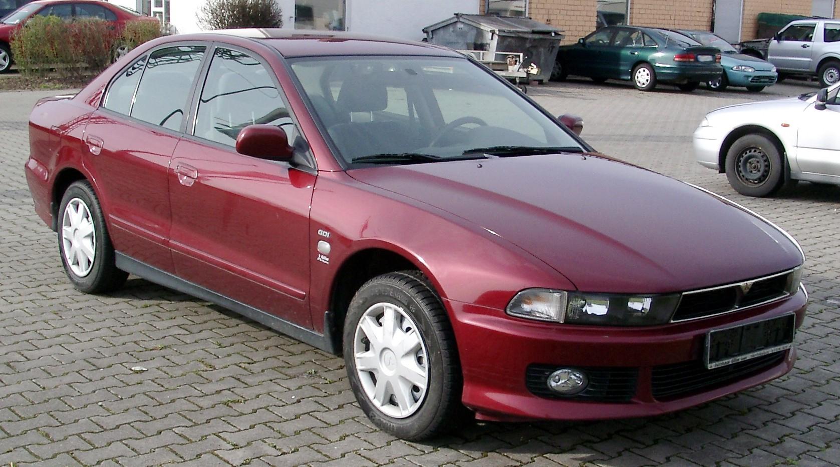Mitsubishi Galant Front