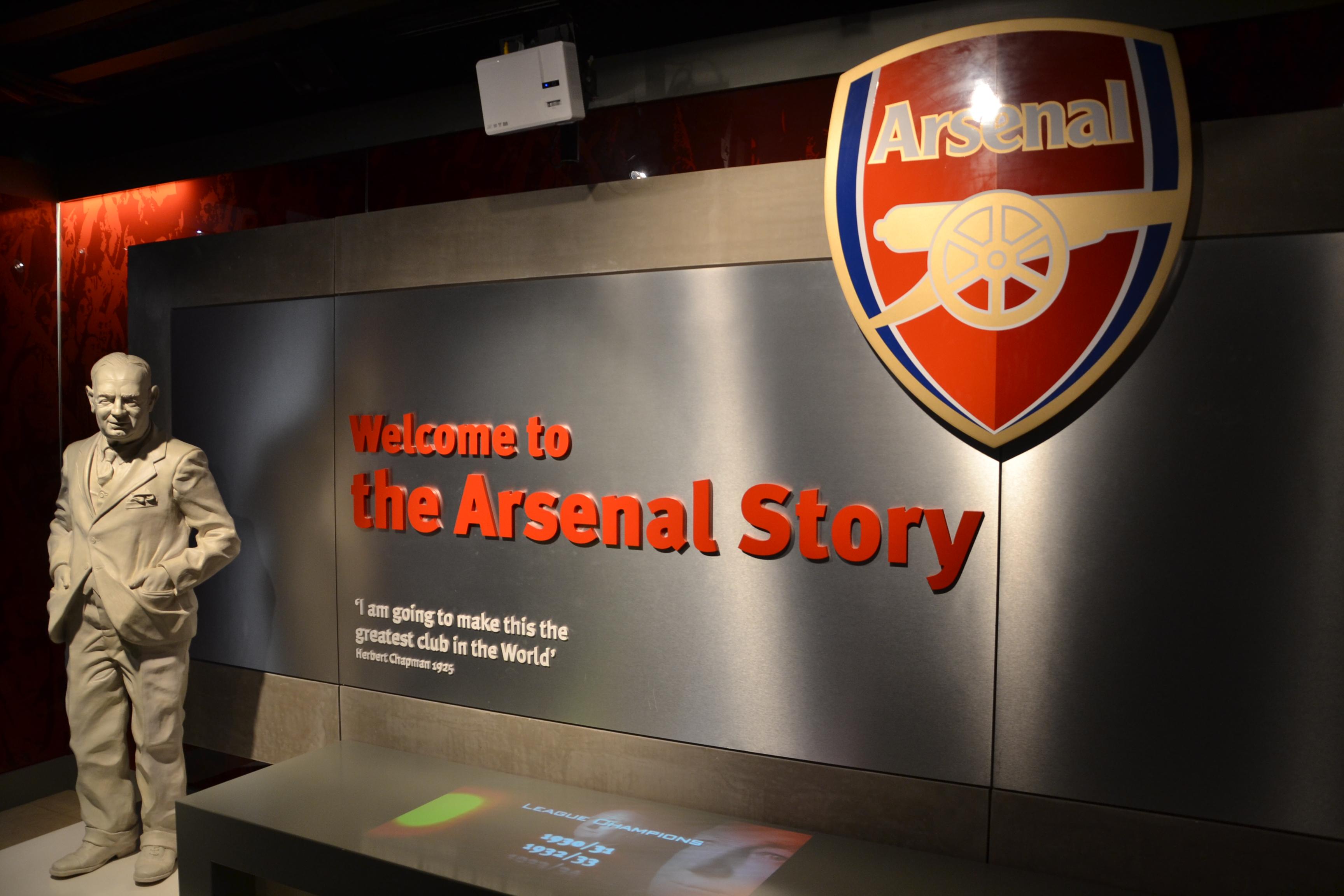 7f4946b0d24 Arsenal Football Club Museum - Wikipedia