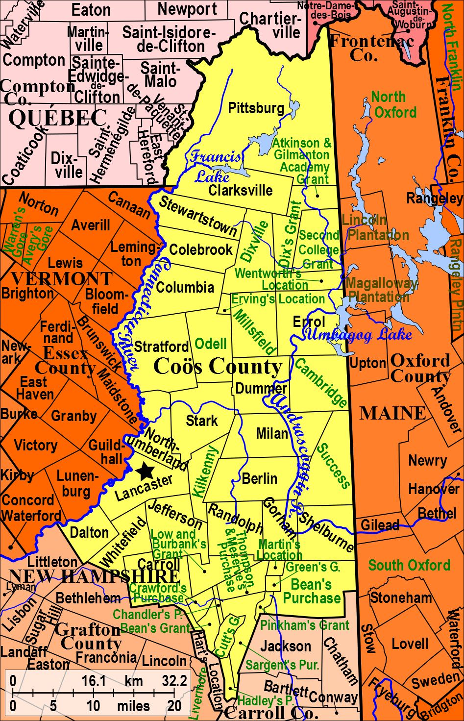 coos county nh map with Co C3 B6s County  New H Shire on Jackson furthermore Default additionally Co C3 B6s County  New H shire likewise Maps likewise Dalton New H shire.