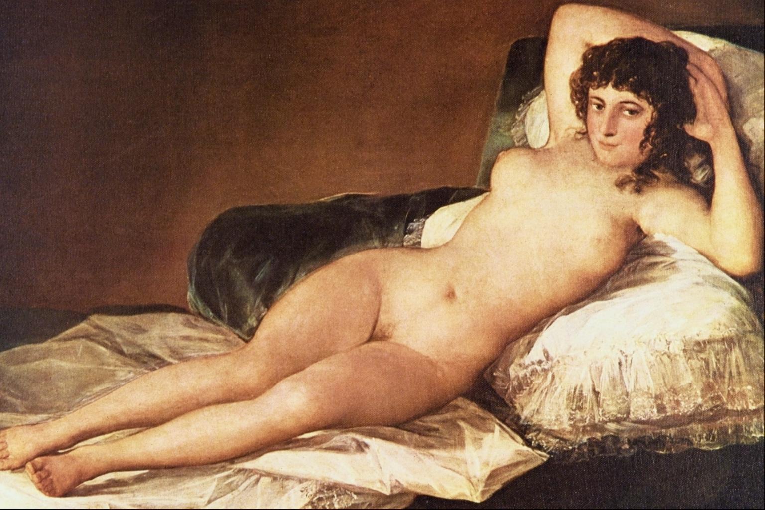 Naked Maja Goya 27