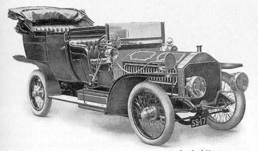 Napier Type 37 60hp car