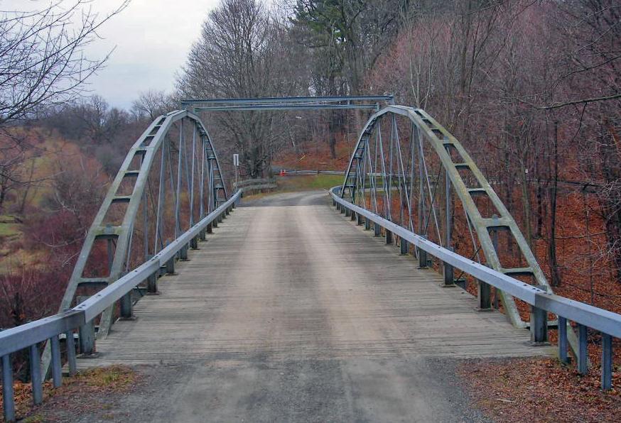 File Normanskill Farm Bridge Albany Ny Deck View From