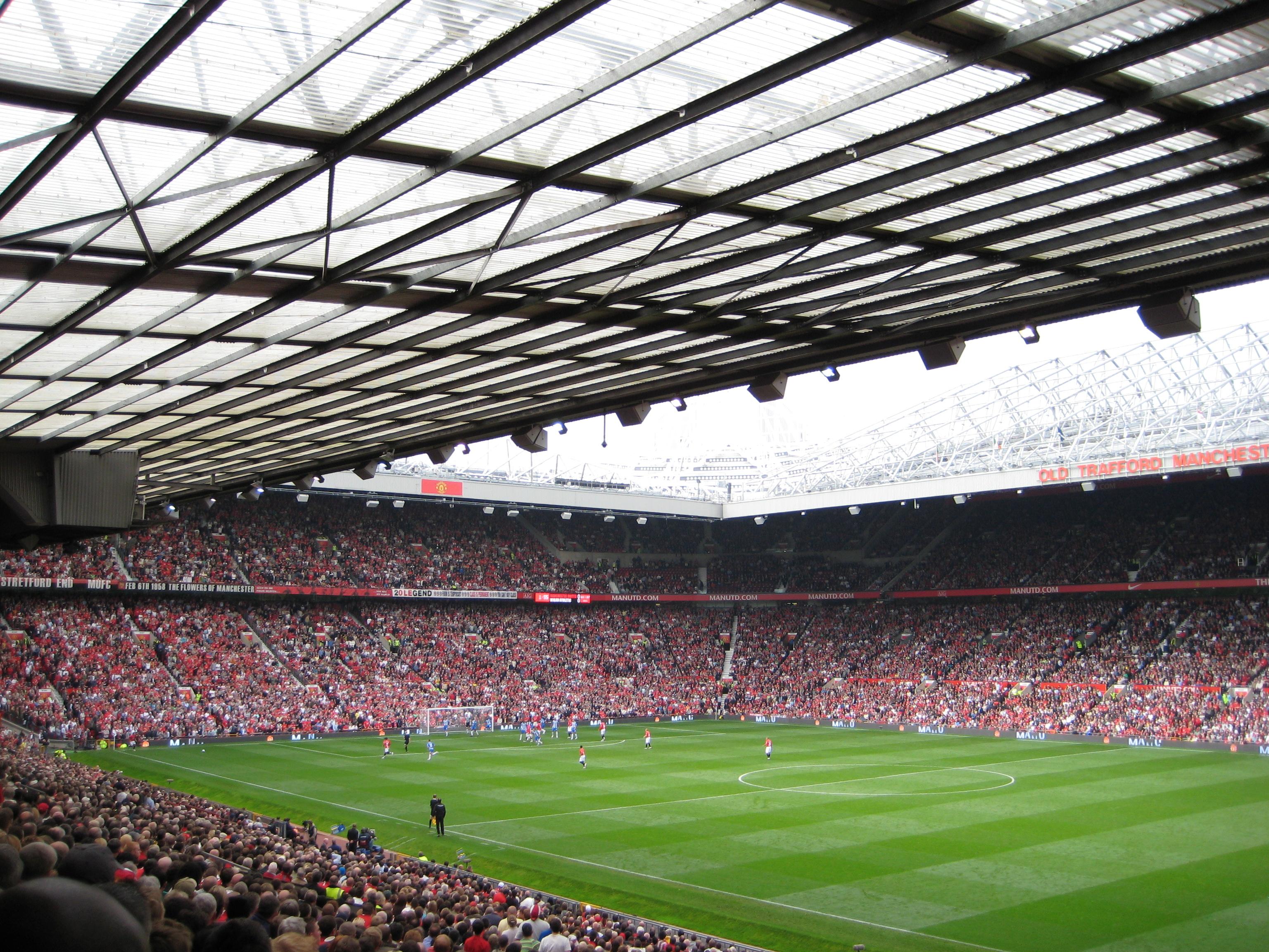 460a0ba2dabed Old Trafford é o maior estádio da Premier League.