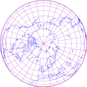 File:Orthographic projection of northern hemisphere with grid.png ...