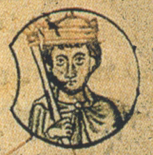 Ota II. podobizna z 12. století.