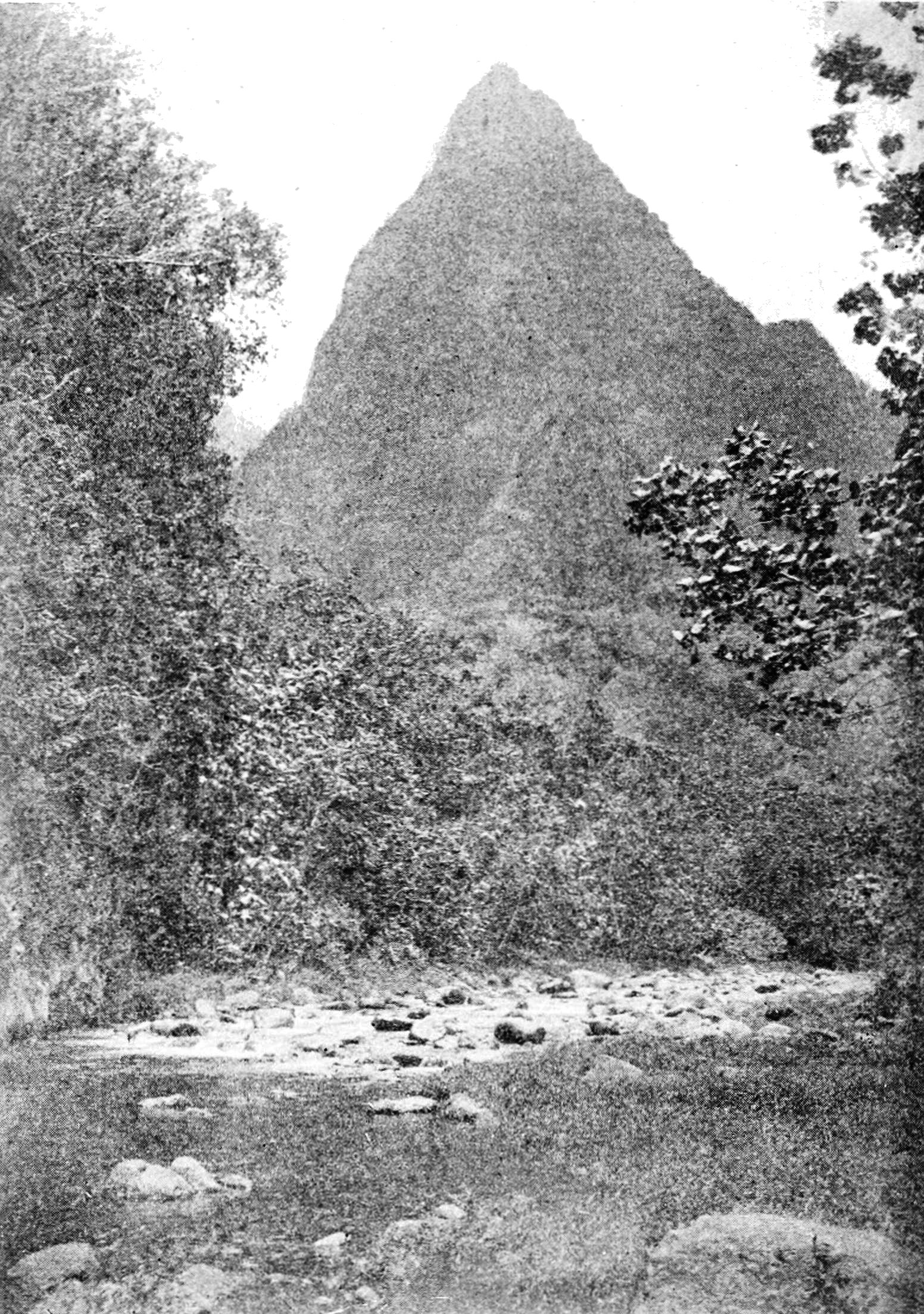 PSM V86 D410 Peak in fautaua valley tahiti.jpg