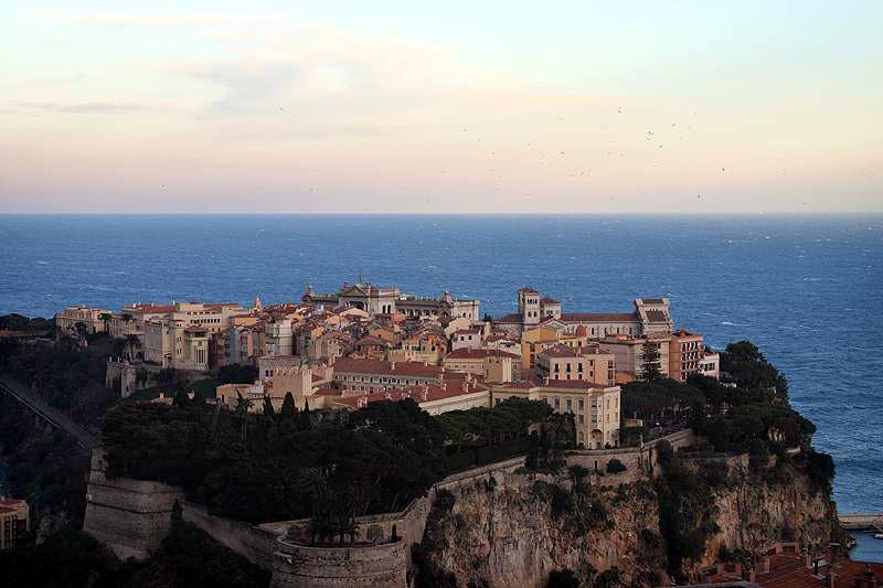 Palacio de Mónaco // Fuente: Wikimedia
