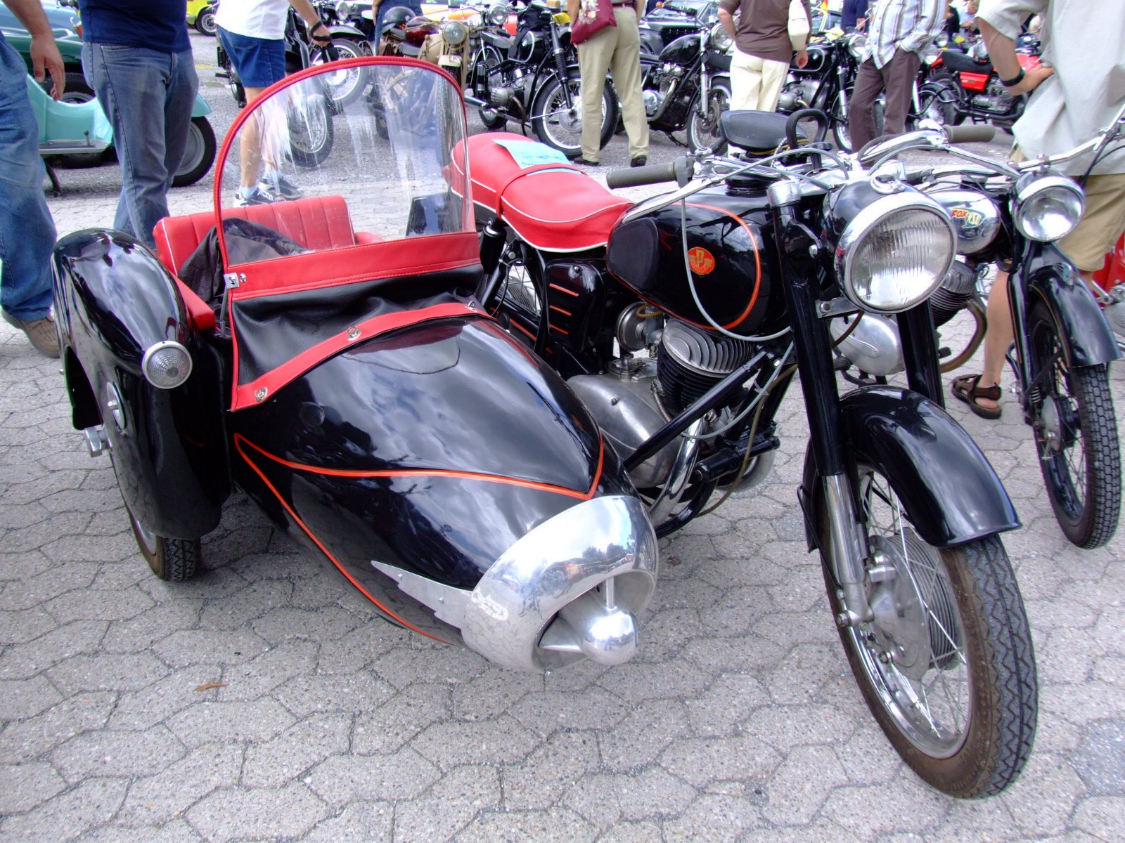 Pannonia Motorcycle With Sidecar For Sale