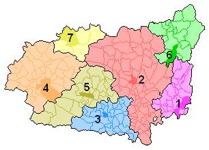 Direutrices d'Ordenación del Territoriu , Xunta de Castiella y Llión.