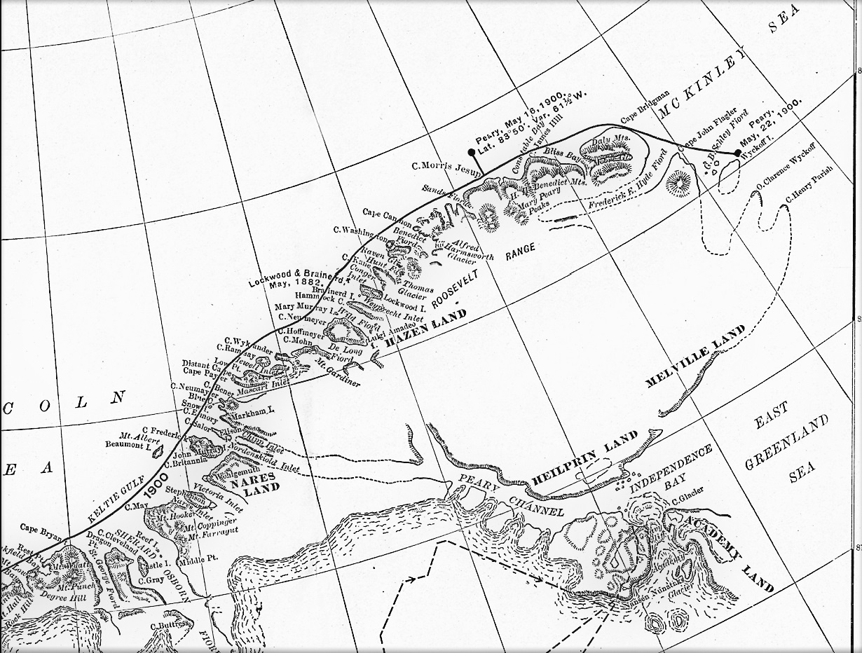 Land Channel Map Peary Channel (Greenland)   Wikipedia