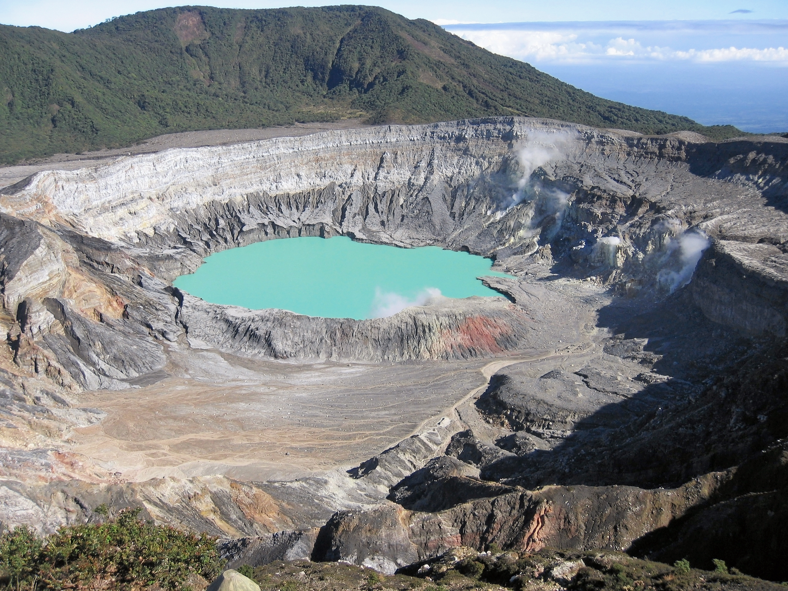 Poas crater Places to Visit in Costa Rico
