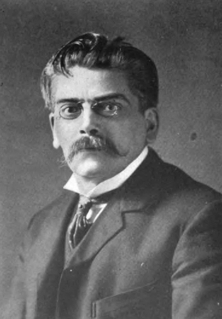 Portrait of Emil Reich