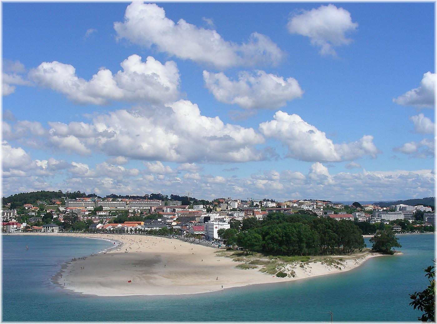 Playa de Santa Cristina Oleiros