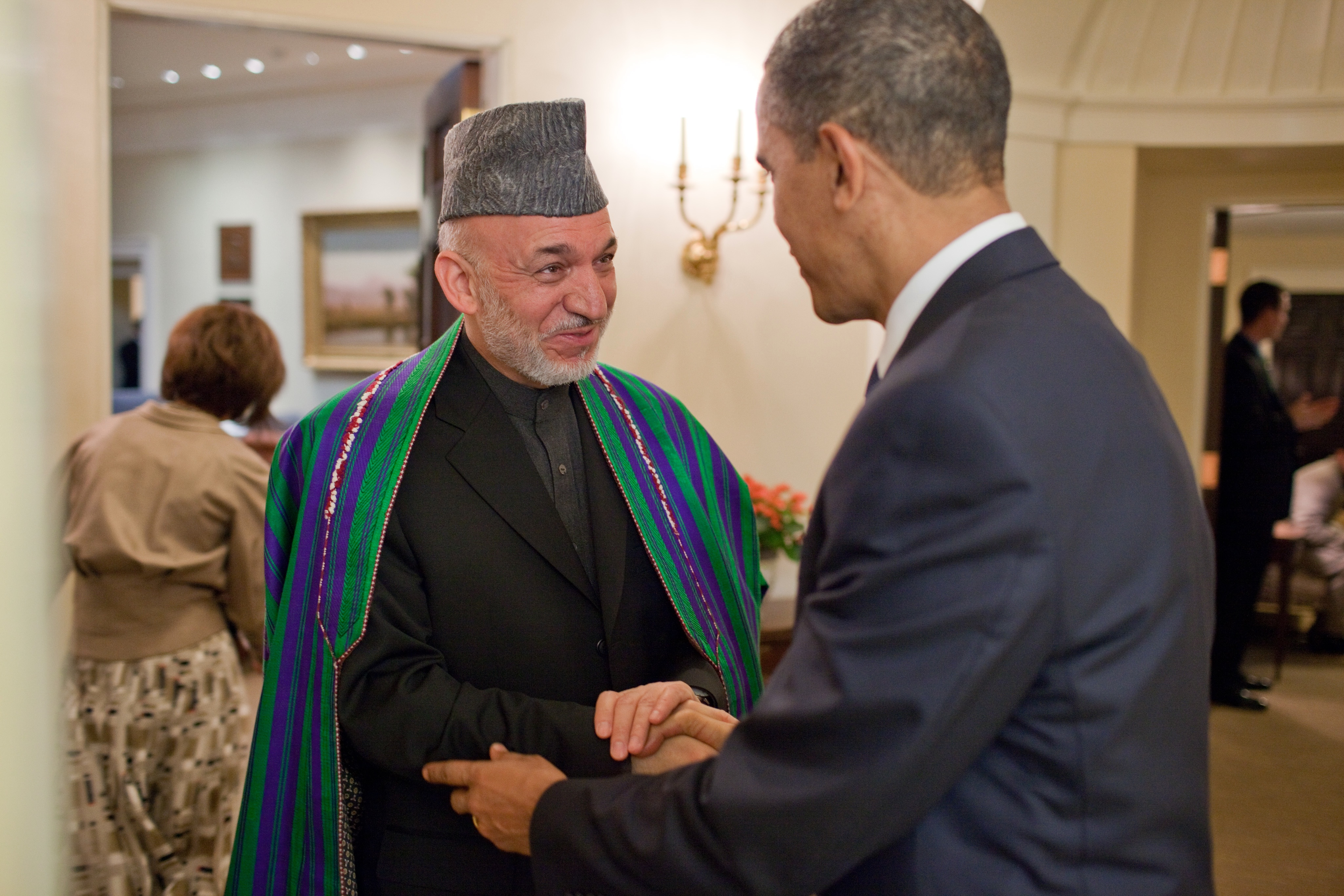Afghan President Karzai Hamid: biography, activities and interesting facts 32